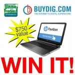 HP Touch Screen Laptop #Giveaway (Ends 12/22)