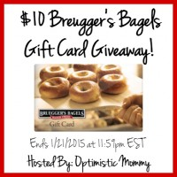 2015 01 21 - 10 Dollar Breuggers Bagels Gift Card Giveaway