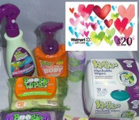 Boogie & Kandoo Wipes, & $20 Walmart Prize Pack #Giveaway (Ends 2/4) | Optimistic Mommy