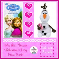 Frozen Valentine's Day Prize Pack #Giveaway (Ends 1/31) | Optimistic Mommy