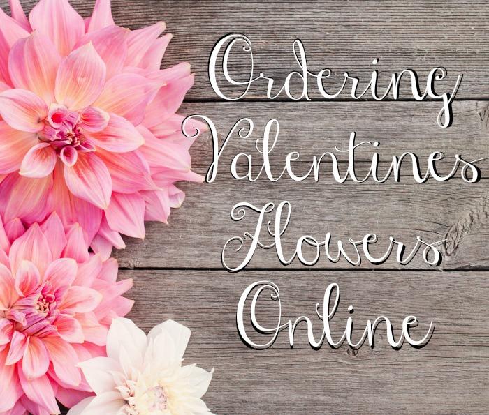 Ordering Valentines Flowers Online