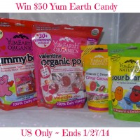YumEarth Valentine's #Giveaway (Ends 1/27) | Optimistic Mommy