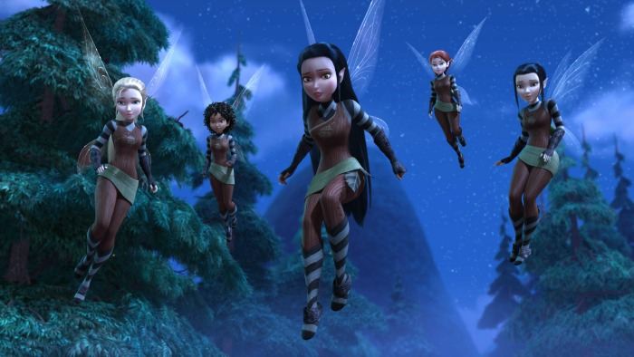 """""""TINKER BELL AND THE LEGEND OF THE NEVERBEAST"""" Pictured: Scout Fairies. ©2014 Disney"""