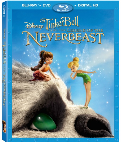 You can catch Tinker Bell and the Legend of the NeverBeast on Blu-ray, Digital HD, and Disney Movies Anywhere March 3, 2015!
