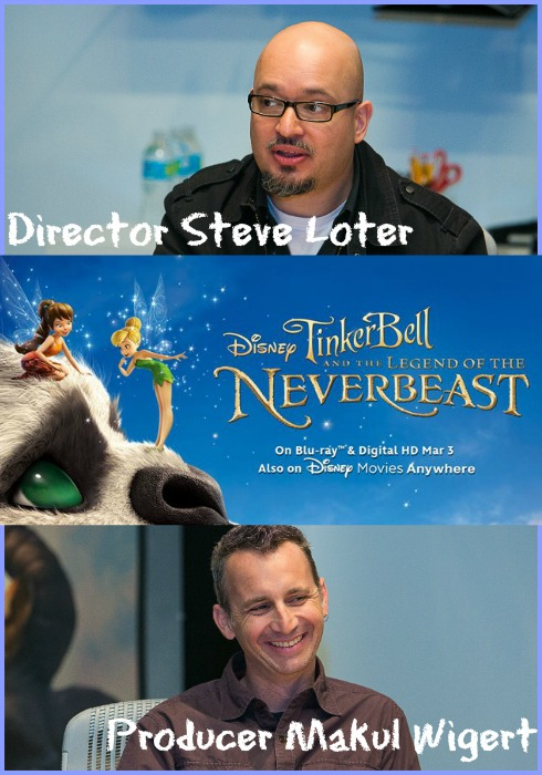 Interviewing Director Steve Loter and Producer Makul Wigert of Tinker Bell and the Legend of the NeverBeast | Optimistic Mommy