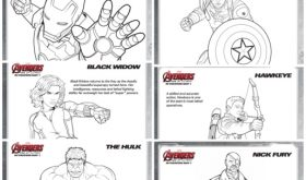 AVENGERS: AGE OF ULTRON Coloring Sheets! #Avengers #AgeOfUltron