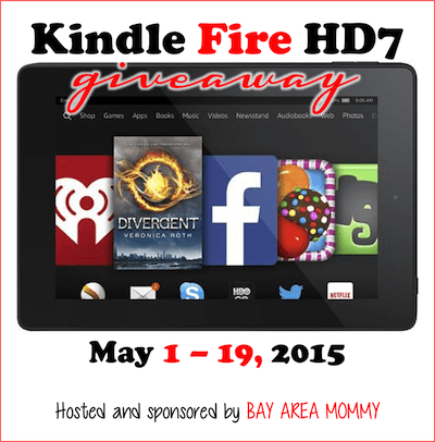 Kindle Fire HD7 #Giveaway (Ends 5/19)