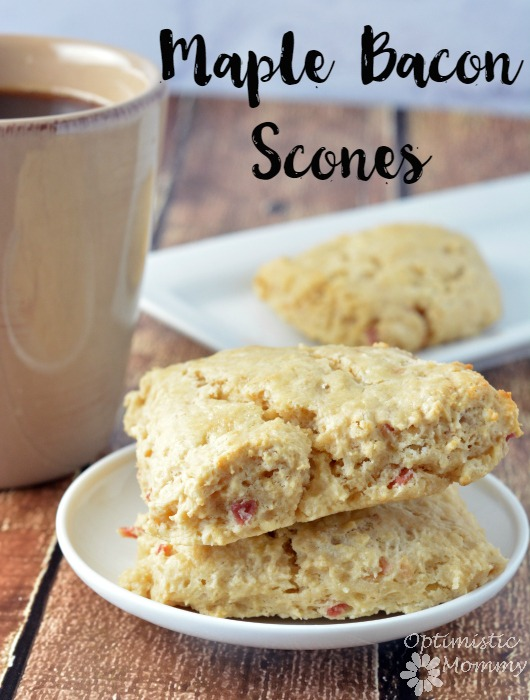 Maple Bacon Scones | Optimistic Mommy