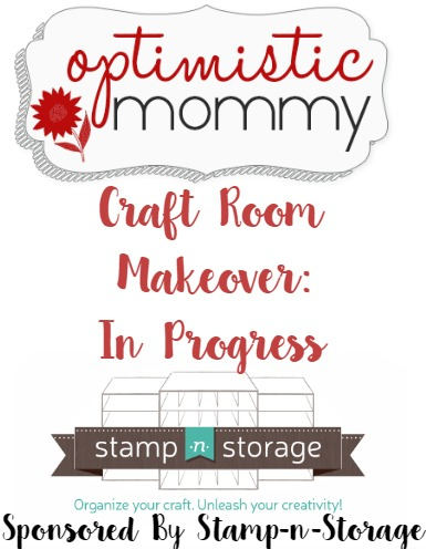 Optimistic Mommy's Craft Room Makeover: In Progress