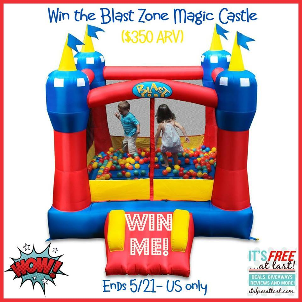 Blast Zone Magic Castle ($350 Value) #Giveaway (Ends 5/21)