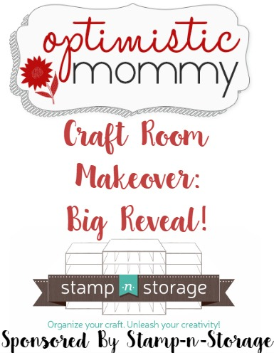 Optimistic Mommy Craft Room Makeover - Big Reveal