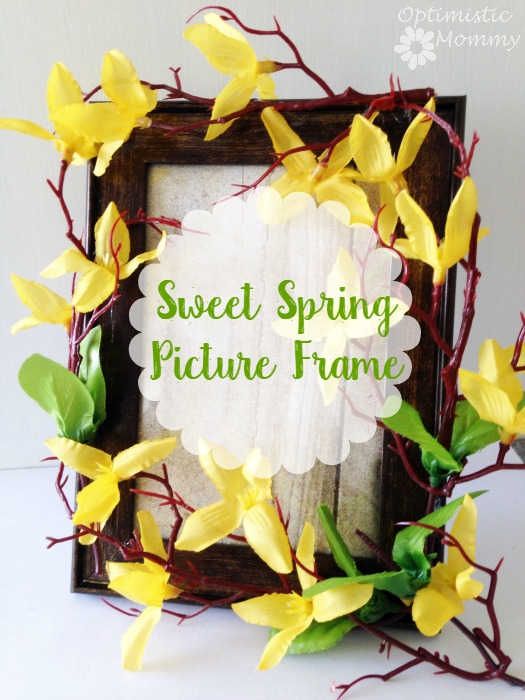 sweet spring picture frame craft - Dollar General Picture Frames