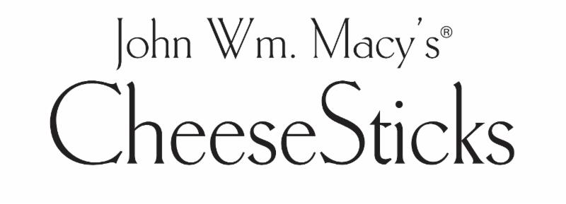 Exhibitor 01 - John Wm Macys CheeseSticks Logo
