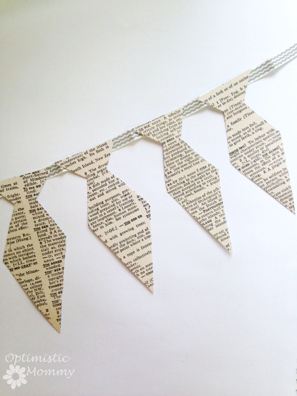DIY Father's Day Tie Garland