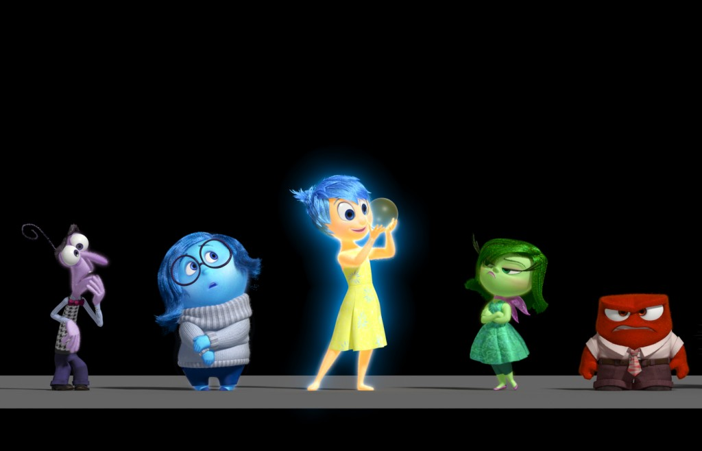 """Disney•Pixar's """"Inside Out"""" takes moviegoers inside the mind of 11-year-old Riley, introducing five emotions: Fear, Sadness, Joy, Disgust and Anger. In theaters June 19, 2015. ©2013 Disney•Pixar.  All Rights Reserved."""
