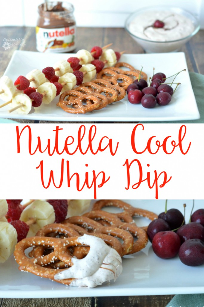 Nutella Cool Whip Nutella Cool Whip Dip