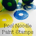 Pool Noodle Paint Stamps
