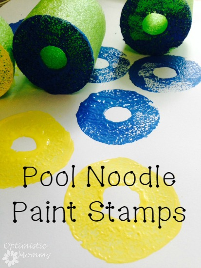 Pool Noodle Craft Stamps