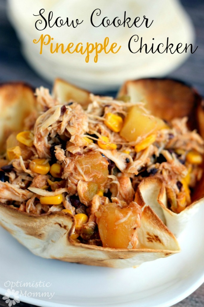 This Slow Cooker Pineapple Chicken Recipe is a Winner