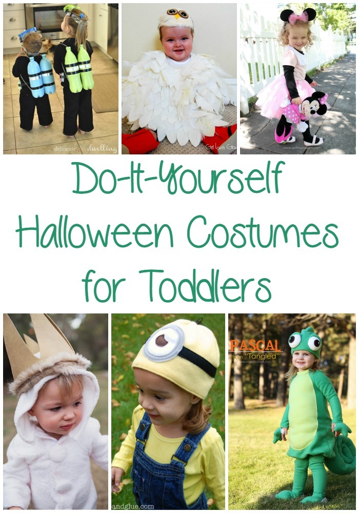 25 Easy DIY Halloween Costumes for Toddlers  sc 1 st  Optimistic Mommy & 25 Easy DIY Halloween Costumes for Toddlers - Optimistic Mommy