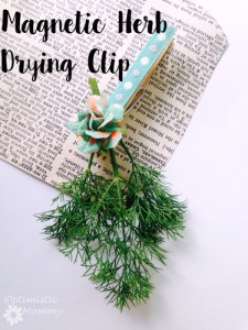 Magnetic Herb Drying Clip
