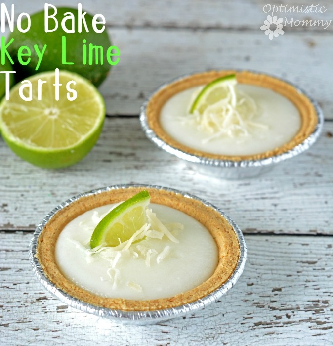 No Bake Key Lime Tart