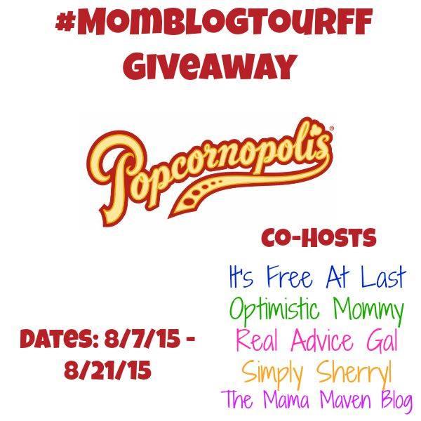 Popcornopolis Giveaway #MomBlogTourFF