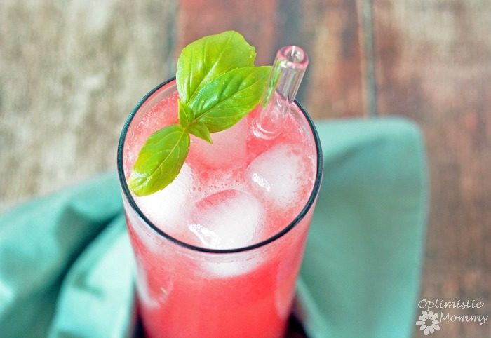 Watermelon and Basil Refresher Recipe