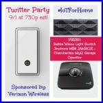 RSVP for the #IoTForHome Twitter Party 9/1 at 7:30pm EST!