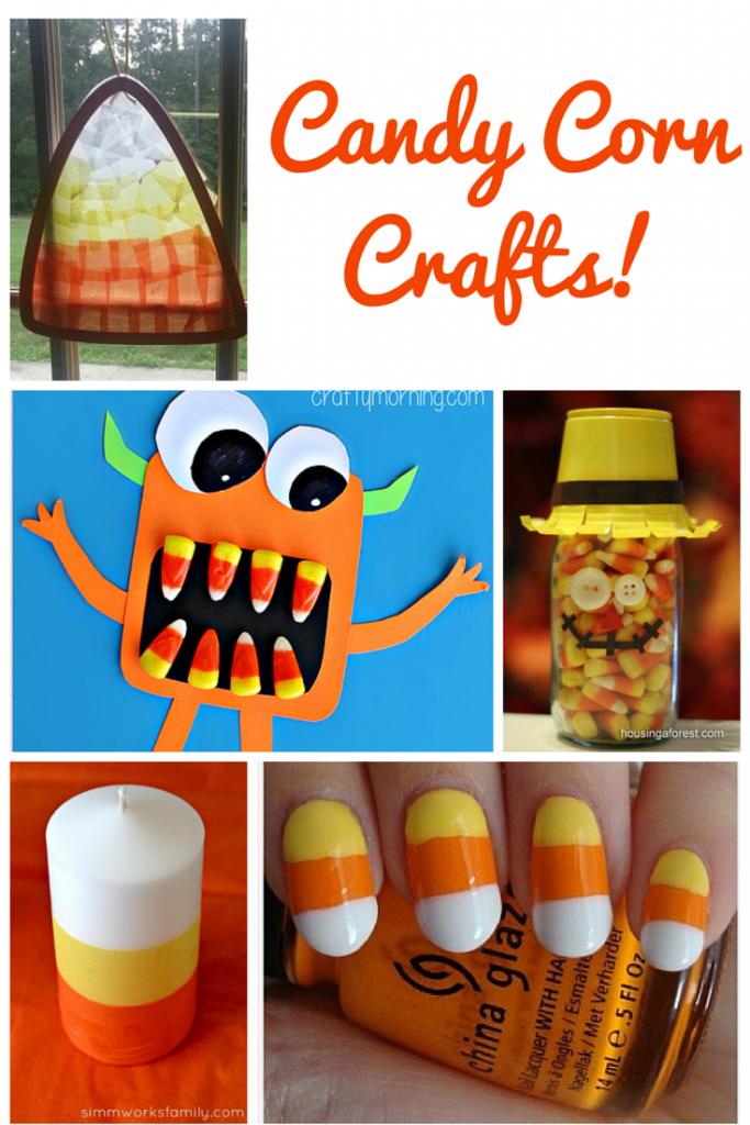 30 Fun Candy Corn Crafts   Optimistic Mommy