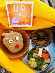 Lunch Box with Lunch Note