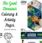 The Good Dinosaur Coloring & Activity Sheets #GoodDino