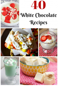 40 White Chocolate Recipes Roundup | Optimistic Mommy