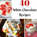 40 White Chocolate Recipes Roundup