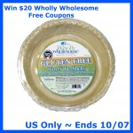 Wholly Wholesome Gluten Free Giveaway (Ends 10/7)