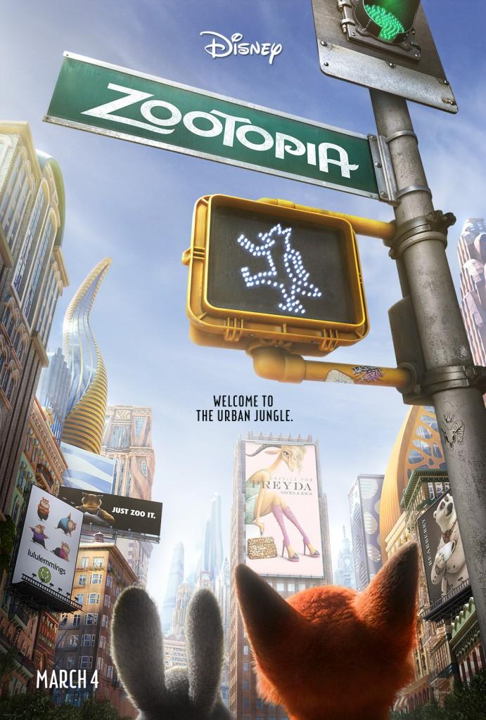 Zootopia Poster #Zootopia
