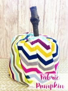 Fabric Pumpkin Tutorial | Optimistic Mommy