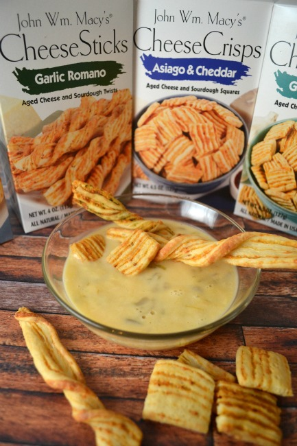 John Wm Macys CheeseSticks with Queso Dip -02