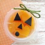 Mandarin Orange Jack-o-Lantern