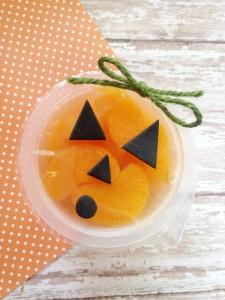 Mandarin Orange Jack-o-Lantern | Optimistic Mommy