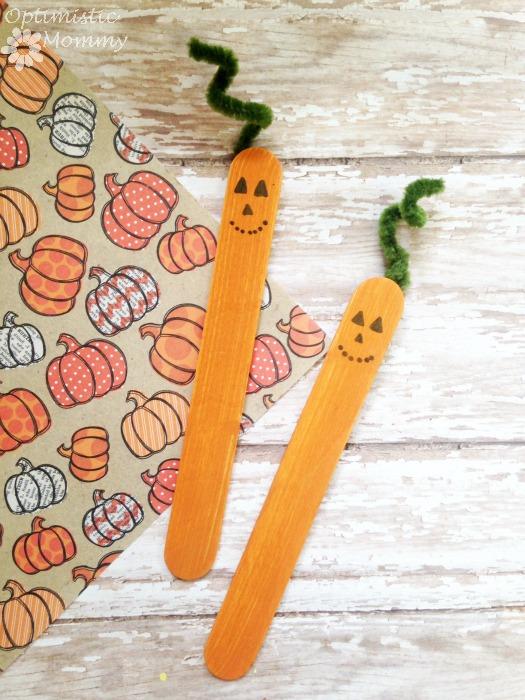 DIY Pumpkin Puppets   Optimistic Mommy