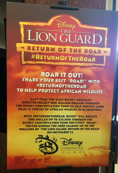 Going Behind THE LION GUARD: RETURN OF THE ROAR -Airing 11/22! #LionGuardEvent