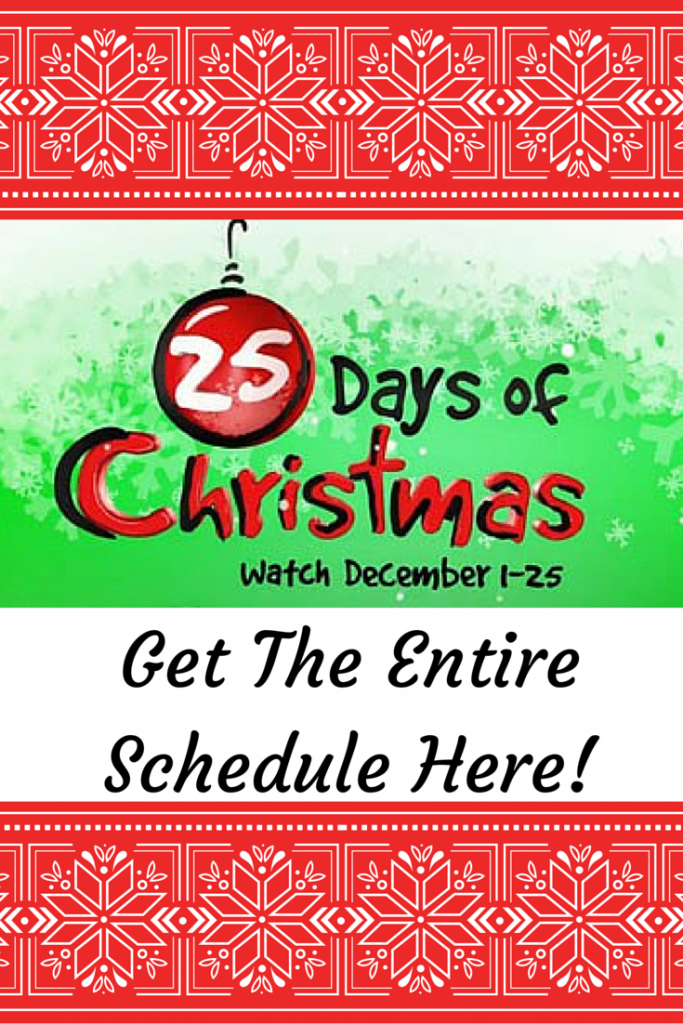 freeforms 25 days of christmas lineup - Abc 25 Days Of Christmas