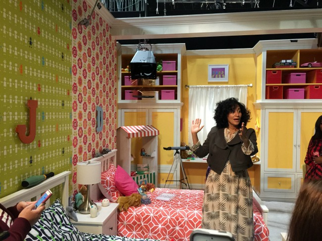 Visiting the Set of black-ish #ABCTVEvent #blackish