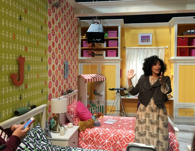 Visiting the Set of black-ish with Tracee Ellis Ross #ABCTVEvent