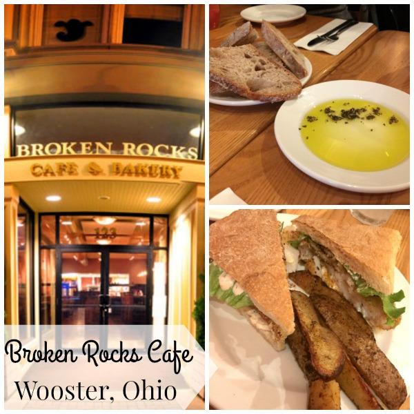 Broken Rocks Restaurant in Wooster, Ohio