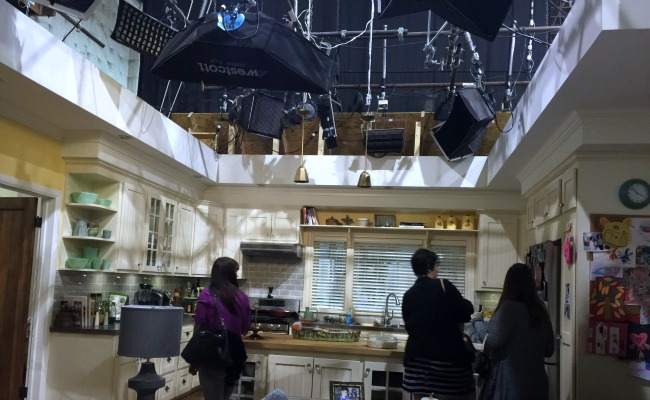 My Visit To The Grandfathered Set & Interview with John Stamos + More! #Grandfathered