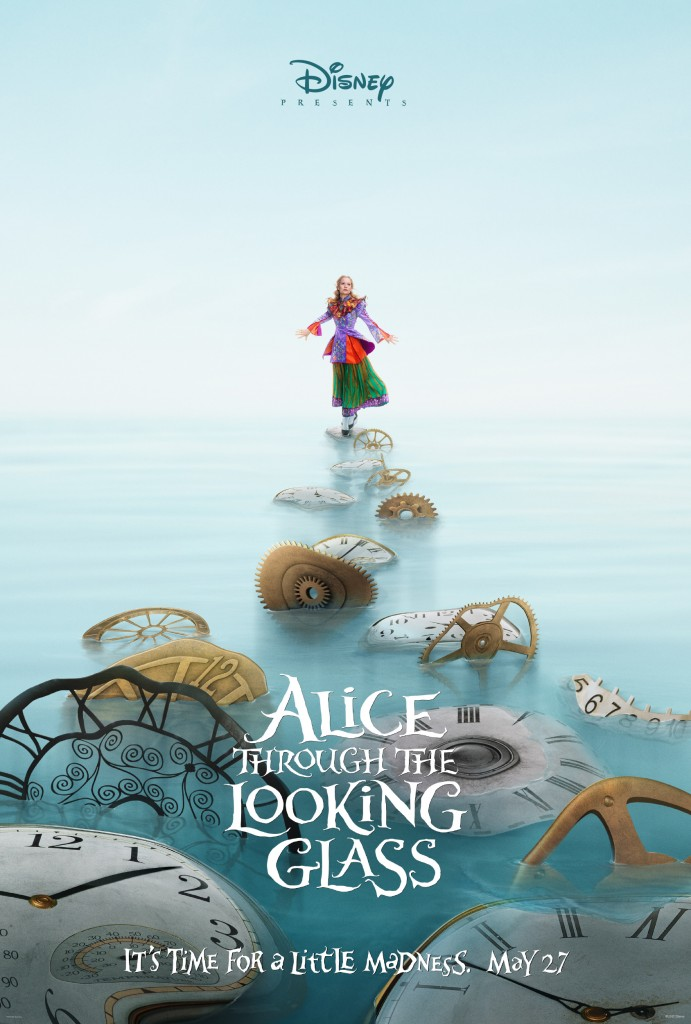 Alice Through The Looking Glass Teaser Poster