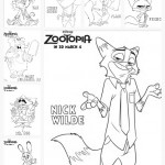 Coloring Sheets + New Clips For Zootopia! #Zootopia