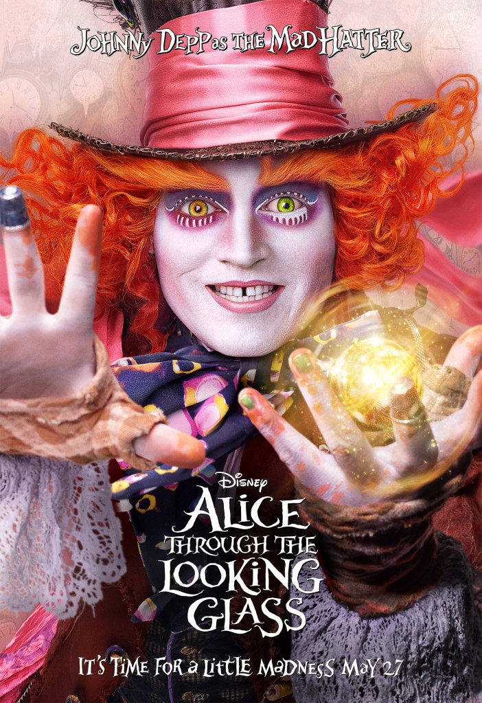Alice Through The Looking Glass Character Poster - Mad Hatter